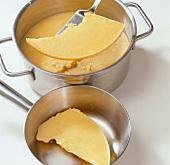 Shrimps, Hummerbutter: Abge- setzte Butter abheben, Step 5
