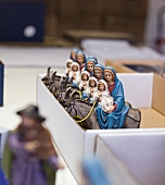 Nativity figures made by Marolin company from Steinach, Switzerland