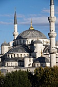 Exterior view of Blue Mosque, Istanbul, Turkey
