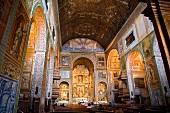 Interior of Igreja do Colegio in Funchal, Madeira, Portugal