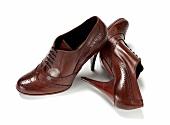 Freisteller, Ankle-Boots braun