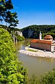 Kloster Weltenburg, Donau, Menschen, Natur, grün, malerisch