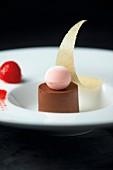 Schokoladen-Ricotta-Dessert