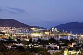 Türkei, Bodrum, Yachthafen, abends, Lichter, malerisch