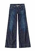 Damenmode, Jeans, an den Taschen mit Strass verziert