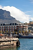 Cape Grace luxury Hotel at Pier in Cape Town, South Africa