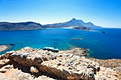 Griechenland: Insel Gramvoussa, Kap Tigani, Meer, Idylle