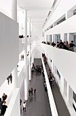 People in Barcelona Museum of Contemporary Art, Barcelona, Spain