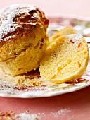 Panettone (Italian Christmas cake)