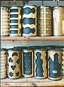 Herstellung von Printen in Aachen bei Bäckerei Klein, Formwalzen