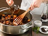 Deutsche Küche, Wacholdersauce zubereiten, Step 2
