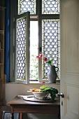 Window in Ippenburg Castle, Germany