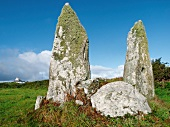 Standing stones in Cape Clear Island, Ireland