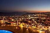 """Blick von der Terrasse, Restaurant """"Tuti"""" im """"Mamara""""-Hotel"""