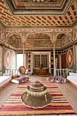 Mehmet Ali Aga Mansion with ottoman style interior in Turkey