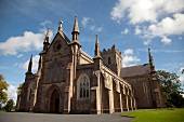 Facade of St Patrick's Cathedral, Armagh, Ireland, UK