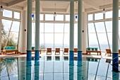 "Türkei, Bodrum, Hallenbad im ""Kempinski Hotel Barbaros Bay"""