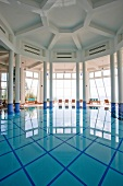 Indoor pool of Kempinski Hotel Barbaros Bay in Turkey