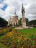 Paris: Notre-Dame-Kathedrale, aussen