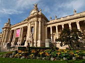 Exterior of Grand Palais Museum in Paris, France