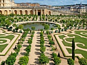 View of The Gardens of Versailles in France