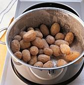 """Salz, Kartoffeln """"abbrennen"""", Step 2"""