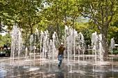 New York: Erfrischung im Battery Park