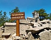 Ruined tomb in Termessos, Antalya, Turkey