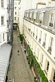 Buildings in Cour Damoye, Paris, France
