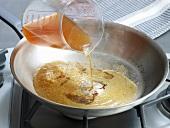 Sauce, Bratansatz löschen, Step 1