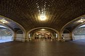 Corridor of Grand Central Terminal in New York, USA