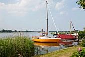 Fishing boats on Baltic Coast, Schleswig-Holstein