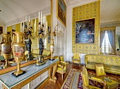 Living room of Versailles Palace in France