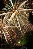 Fireworks in Paris, France