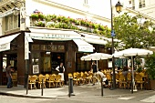 Saint-Germain-des-Pres Cafe in Paris, France