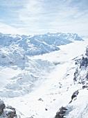 View of snow in Titlis, Uri Alps, Engelberg, Obwalden, Switzerland