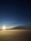 View of Mount Rigi with fog at sunrise in Alps, Lake Lucerne, Lucerne, Switzerland