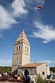 Lubenice, mountain village on the island of Cres, Croatia