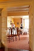 Staff in Hotel Knockinaam Lodge, Scotland