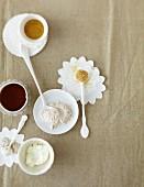 Alternativen zu Zucker und Mehl als Backzutaten