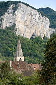View of Church in Mouthier-Haute-Pierre, Franche-Comte