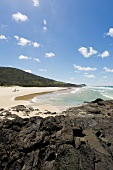 View of Fraser Island in Queensland, Australia