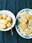 Duo of dumplings: Thuringia dumplings and Hessian leek dumplings