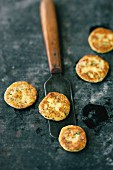 Pommes Macaire (potato cakes made from precooked potatoes)