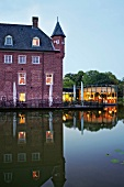 Wasserburg Anholt with Restaurant Water Pavilion, Isselburg, Borken, Germany