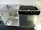 Küchenaufbau: Das Grundgerüst ist fertig