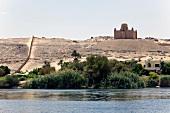 View of Mausoleum of Aga Khan, Egypt