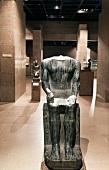 Statue of Pharaoh in Nubia Museum, Aswan, Egypt