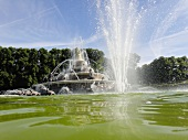 Water fountain in Herrenchiemsee, Chiemgau, Bavaria, Germany