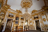 Interior of Herrenchiemsee New Palace, Chiemgau, Bavaria, Germany
